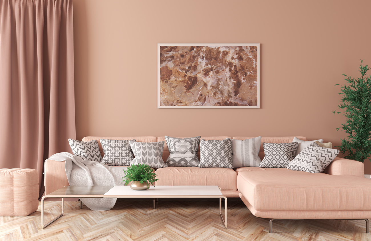Wir realisieren Ihr Traumwohnzimmer mit edlen Farben